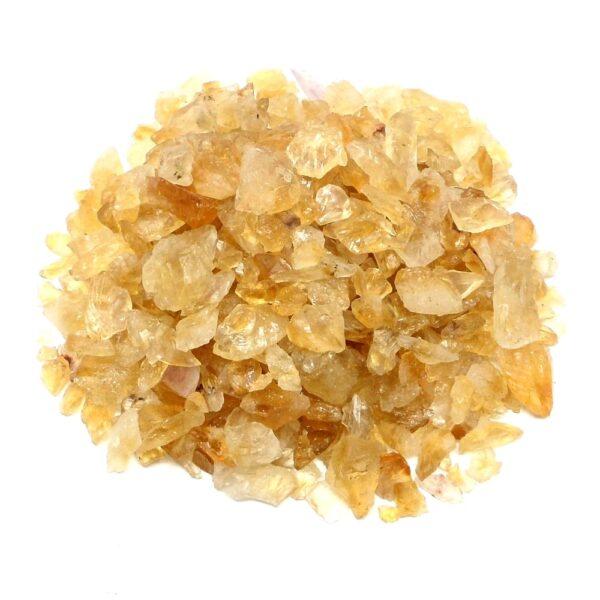Citrine Chips 16oz All Raw Crystals bulk citrine