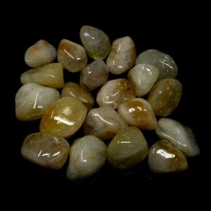 Citrine, lg, tumbled, 16oz All Tumbled Stones bulk citrine
