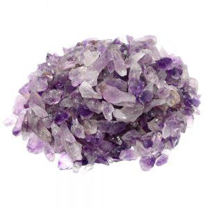 Amethyst, commercial, sm, 16oz Raw Crystals amethyst