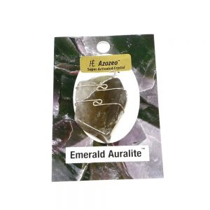 Emerald Auralite Pendant Crystal Jewelry Auralite