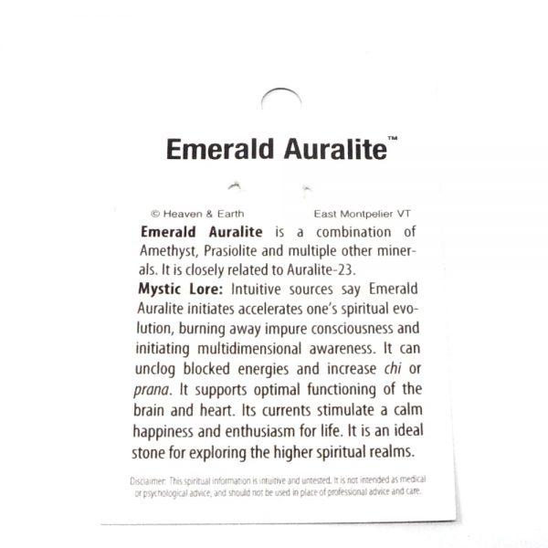 Emerald Auralite Pendant All Crystal Jewelry Auralite