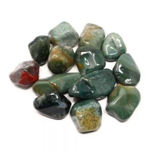 Jasper, Fancy, tumbled, 16oz All Tumbled Stones bulk crystals