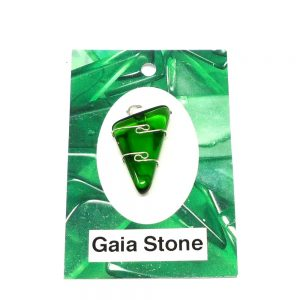 Gaia Stone Pendant All Crystal Jewelry Gaia Stone