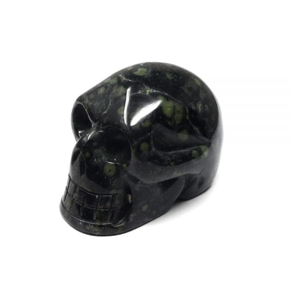 Kambaba Jasper Skull All Polished Crystals crocodile jasper