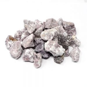 Lepidolite 16oz All Raw Crystals bulk lepidolite