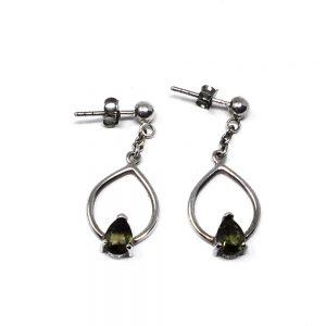 Moldavite Earrings Crystal Jewelry crystal earrings