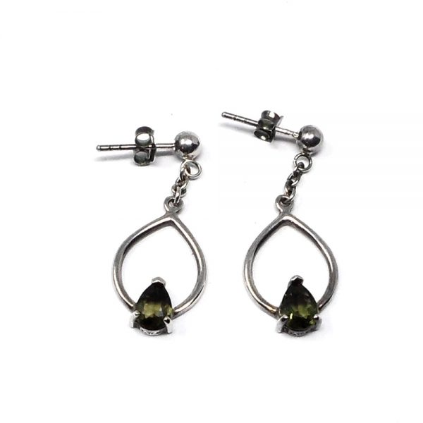 Moldavite Earrings All Crystal Jewelry crystal earrings