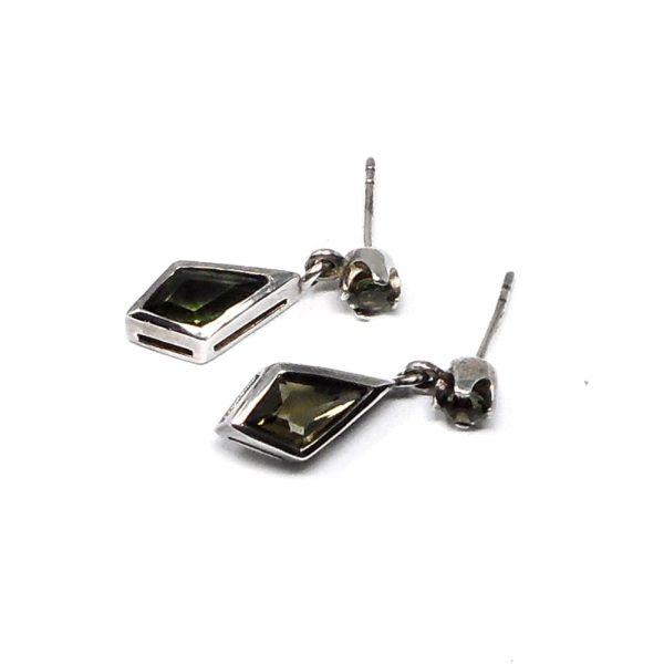 Moldavite Earrings All Crystal Jewelry crystal earrings