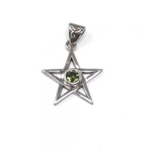 Moldavite Star Pendant All Crystal Jewelry authentic moldavite