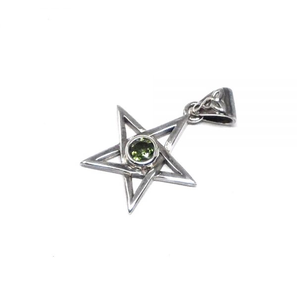 Moldavite Star Pendant All Crystal Jewelry authentic moldavite