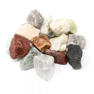 Mixed Stones lg 16oz Raw Crystals agate
