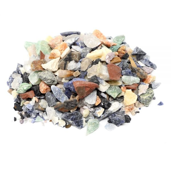 Mixed Stones sm 16oz All Raw Crystals agate