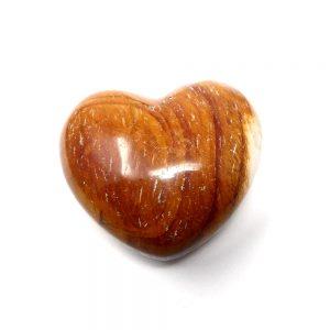 Mookaite Puffy Heart New arrivals crystal heart