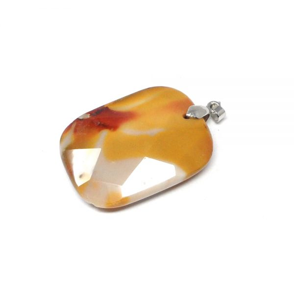 Mookaite Faceted Pendant All Crystal Jewelry crystal necklace