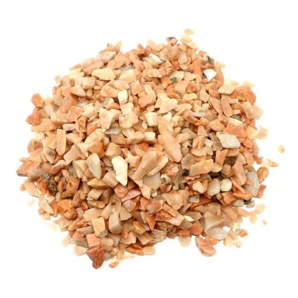 Moonstone Chips 16oz All Raw Crystals bulk moonstone