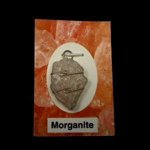 Morganite Crystal Pendant All Crystal Jewelry healing properties morganite