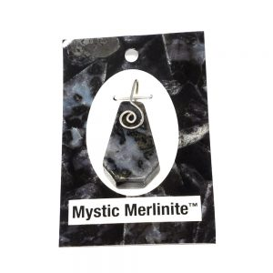 Mystic Merlinite Pendant Crystal Jewelry healing properties merlinite
