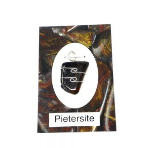 Pietersite Crystal Pendant Crystal Jewelry authentic pietersite