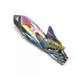 Rainbow Aura Quartz Point All Specialty Items arkansas quartz