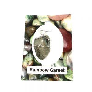 Rainbow Garnet Pendant All Crystal Jewelry grossular garnet