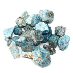 Raw Blue Apatite 16oz All Raw Crystals apatite