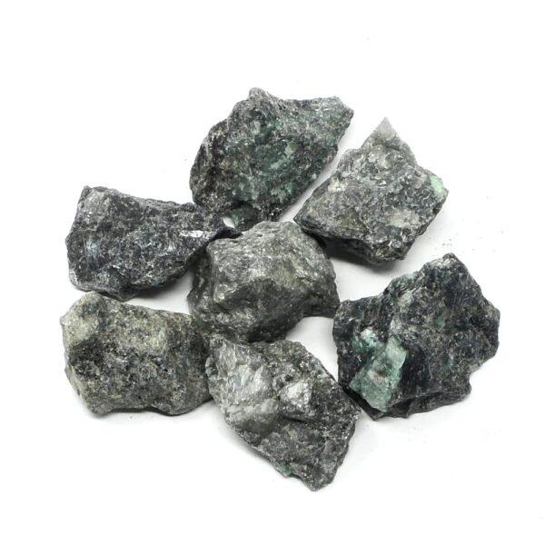 Raw Emerald Pieces 8oz All Raw Crystals bulk emerald