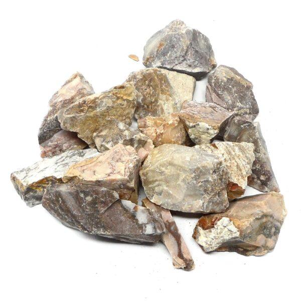 Raw Marble Jasper 16oz All Raw Crystals bulk jasper
