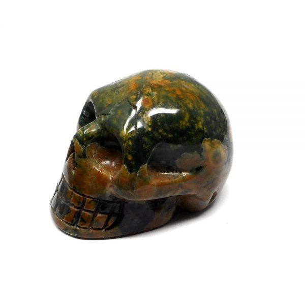 Rhyolite Skull All Polished Crystals crystal skull
