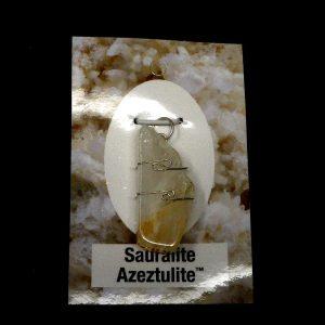 Sauaralite Azeztulite Pendant Crystal Jewelry azeztulite