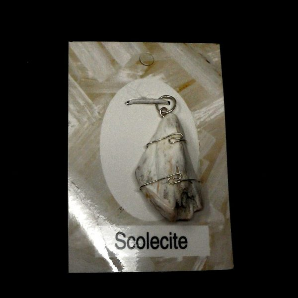 Scolecite Crystal Pendant All Crystal Jewelry scolecite
