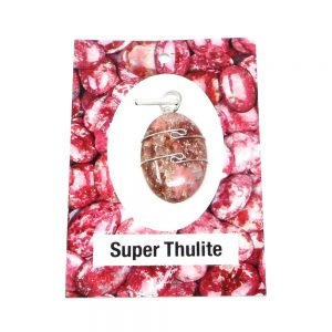 Super Thulite Pendant Crystal Jewelry super thulite