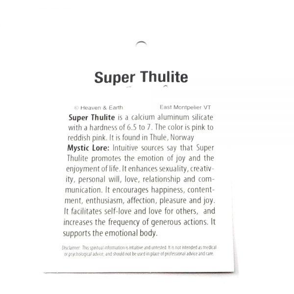 Super Thulite Pendant All Crystal Jewelry super thulite