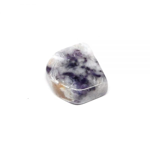Violet Flame Opal, tumbled All Raw Crystals opal