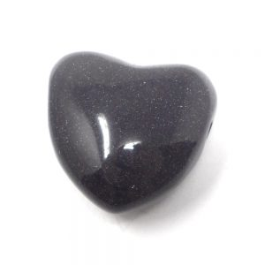 Blue Goldstone Heart Pendant All Crystal Jewelry blue goldstone