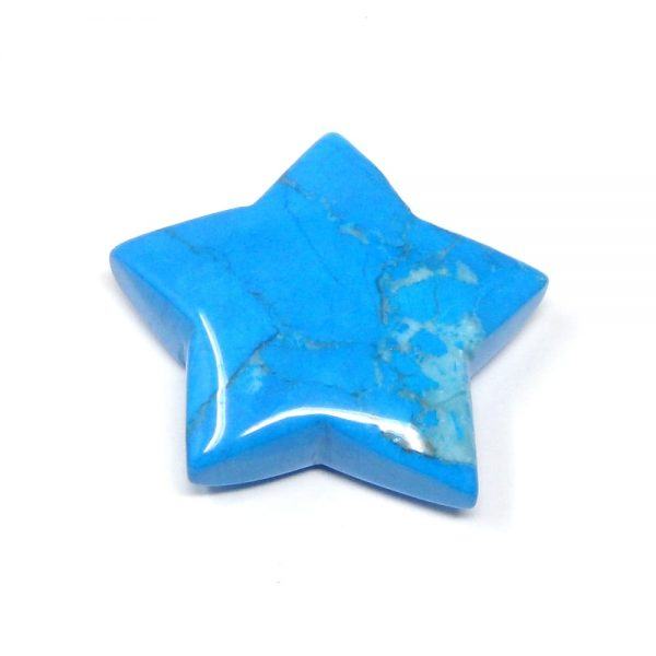 Blue Howlite Star All Specialty Items blue howlite