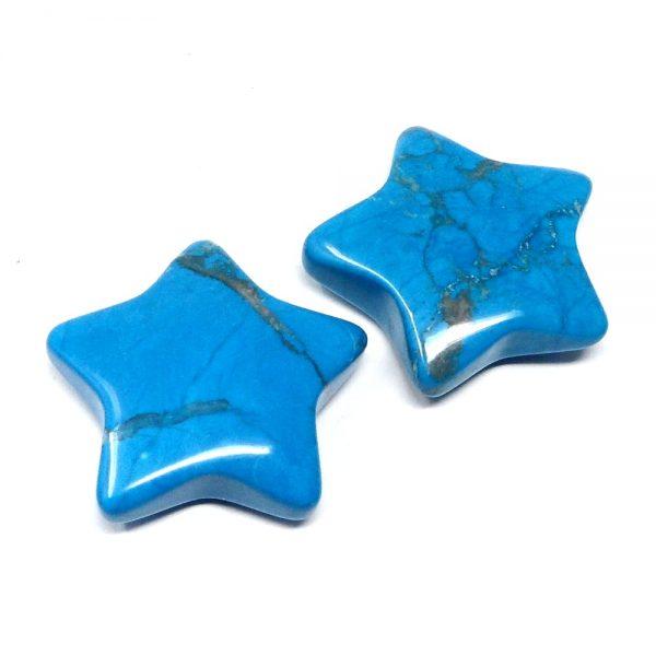 Blue Howlite Star All Specialty Items blue howlite