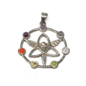 Chakra Pendant All Crystal Jewelry amethyst pendant
