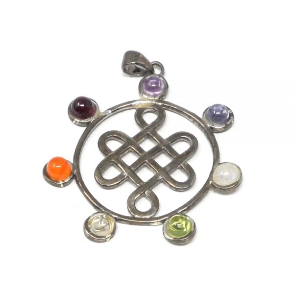 Chakra Pendant All Crystal Jewelry amethyst pendant