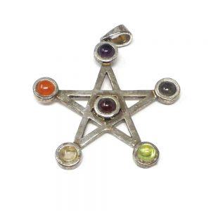 Chakra Pendant Crystal Jewelry amethyst pendant