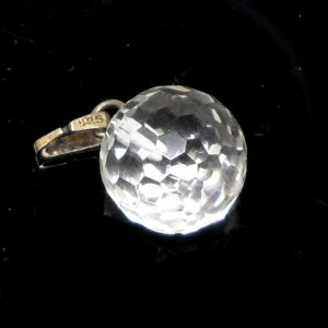 Quartz Faceted Pendant All Crystal Jewelry clear quartz jewelry