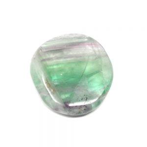 Fluorite Pocket Stone Gallet crystal pocket stone