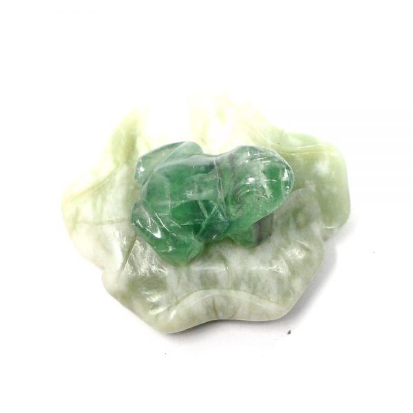 Fluorite Crystal Frog All Specialty Items crystal frog