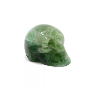 Fluorite Skull All Polished Crystals crystal skull