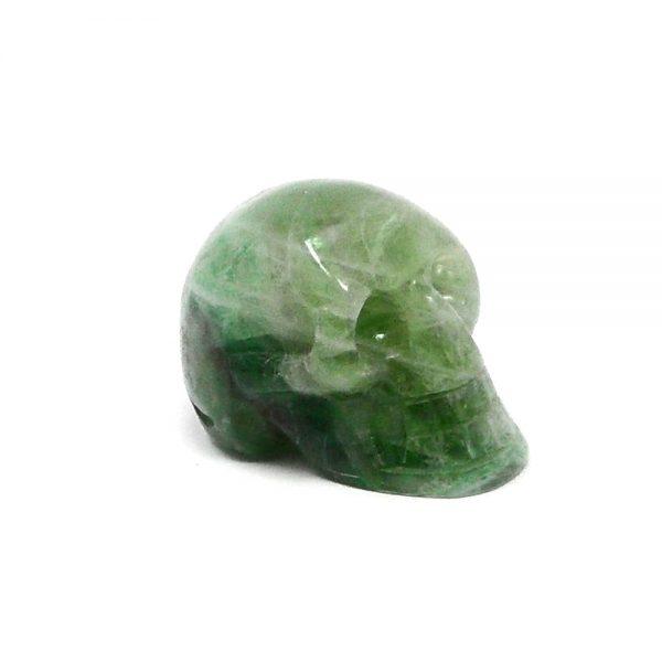 Fluorite Skull All Polished Crystals crystal skull