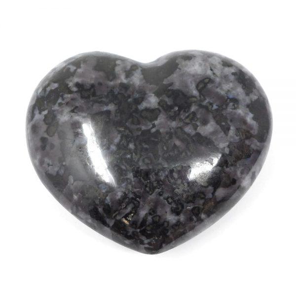 Indigo Gabbro Heart All Polished Crystals crystal heart