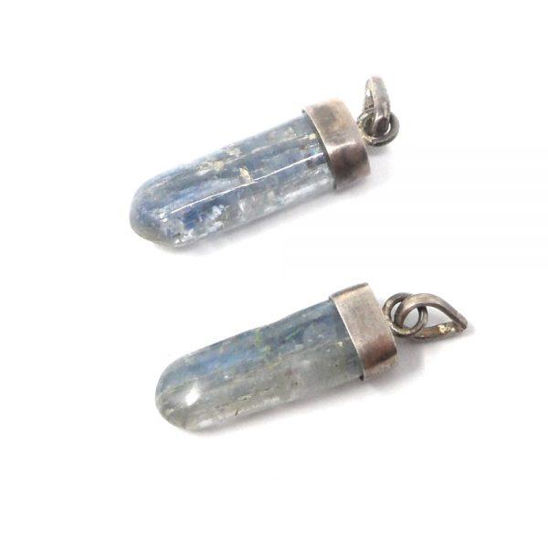 Blue Kyanite Pendant All Crystal Jewelry blue kyanite