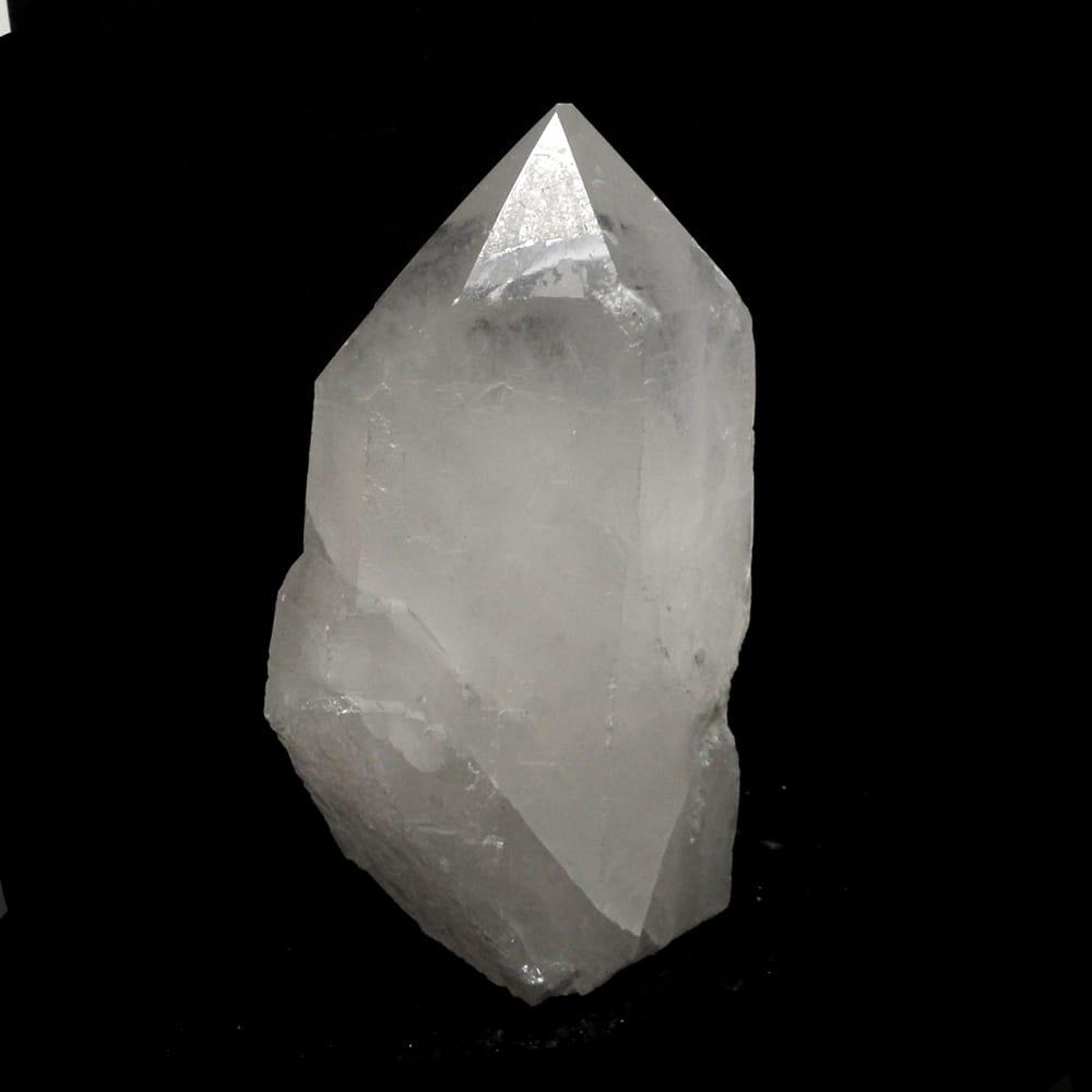 530 gram Brazil Quartz Rock Crystal Point