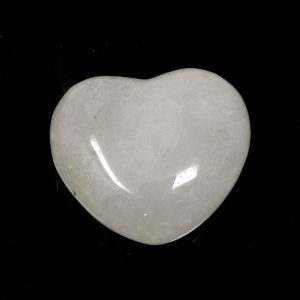 Clear Quartz Heart All Polished Crystals clear quartz