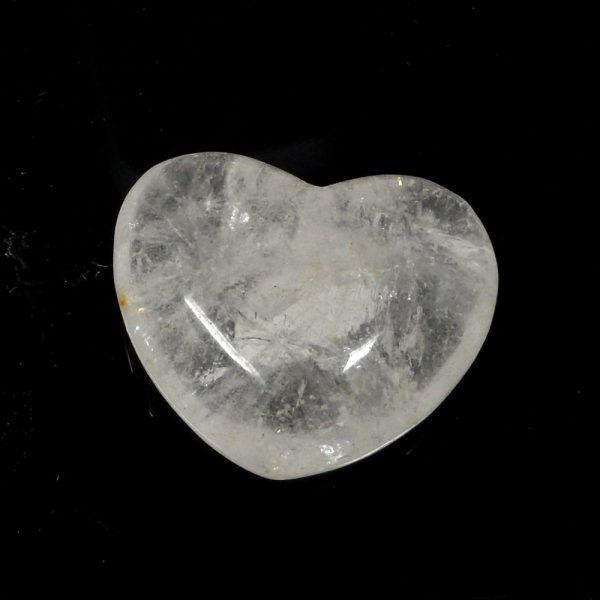 Clear Quartz Heart All Polished Crystals clear quartz