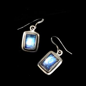 Rainbow Moonstone Earrings Crystal Jewelry crystal earrings